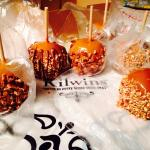 Best caramel apples!!! Fresh, crisp apples with chewy caramel!!!!