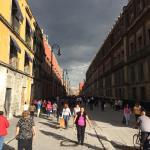 Calle Seminario o La Moneda camino al Templo Mayor después del Zócalo