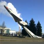 Monument to the MiG-21