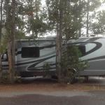 Madison Campground--tight but great location