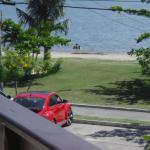 Vista desde la terraza en que deayunaba