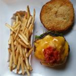 Pretzel Bun Hamburger