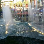 Love the fountain.  ...