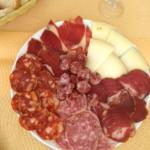 Charcuterie & manchego