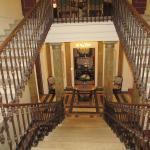 L'escalier de l'hôtel