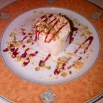 classique nougat glacé joliment présenté
