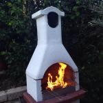 Nice oven in Villa Galini Lindos