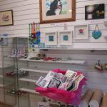 New craft area with plenty to see.