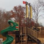 Kiddie Pirate Playground beside the Castle