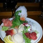 Custom Sashimi - Red Clam, Conch, Octopus, Baby Octopus,  Squid, Japaneses Scallop