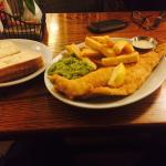 Highly recommend the fish and chips!