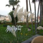 Gartenanlage des Hotels Tigaiga