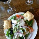 Soup, salad & bread. Simple & delicious.