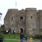 Ingang van het kasteel.