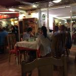 Many people every night and very nice staff. Very good and cheap food. We went back four times i