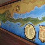 A Gigantic Wall Map of All the Spanish Missions