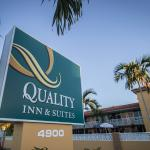 Located on Hollywood Boulevard, Quality Inn and Suites