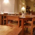 """The """"packed"""" dining room....."""