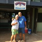 Lorraine & Guy Kana, owner of Lorraine Shave Ice on Maui.