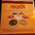 Rangoli Indian Cuisine