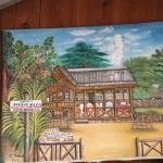 Local art @ Mama Flo's Beach Bar