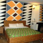 Double room from Le Bambou Gorilla Lodge
