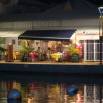 take the walk around Marina Royal to find this wonderful place