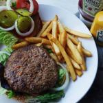 This is the hamburger