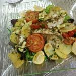 Coda di rospo con verdure gratinate eccezionale!!!