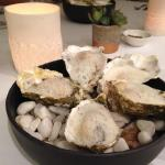poach oysters in champagne velouté