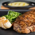 Succulent steaks at The Capital by Water Library