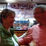 Gezellig in de Tapas-bar/restaurant La Picaeta
