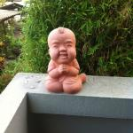 可爱的小雕像