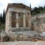 The Athenian Treasury at the Temple of Apollo