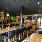 Une salle du restaurant
