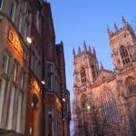 In the shadow of York Minster