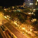 Utsikt från balkongen på 7 våningen.