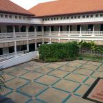 Inner courtyard of the Cultural Centre, once the home of royalty.
