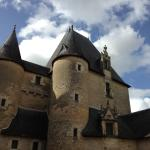 Chateau of Fougeres-sur-Bievre - the old towers
