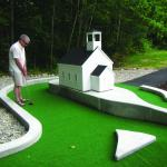 Handicap accessible Mini Golf course!