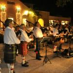 Holiday Festival of Lights bag pipes