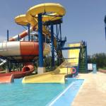 Water park activity.