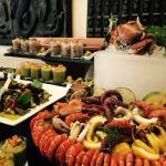 African regent buffet