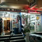 unassuming little dive shop with a big heart