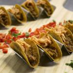 BBQ Pulled Pork Tacos - part of 10 passed hors d'oeuvres throughout the evening!