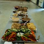 roller derby catered lunch in Wilberforce On.