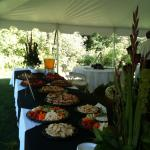 Catered lunch at Fleming school of the arts, Haliburton ON