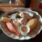 Choucroute de la mer avec son poisson frais