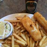 Haddock 'n chips.