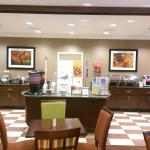 Hot Breakfast Buffet Line